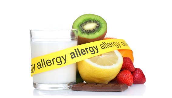 Examples of highly allergenic foods