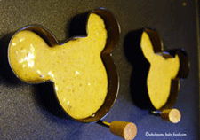Pumpkin pancake recipe for baby finger food
